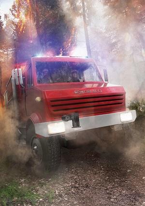 Camera jour thermique ptz bea pompiers