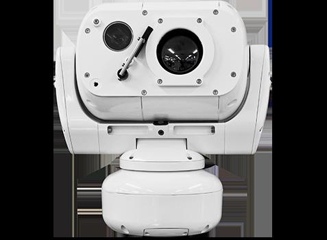 camera thermique zoom motorisé LWIR marine surveillance militaire vehicule