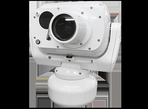 camera de surveillance 4K ULL mobile marine bateau batiment marine nationale militarisée longue portée