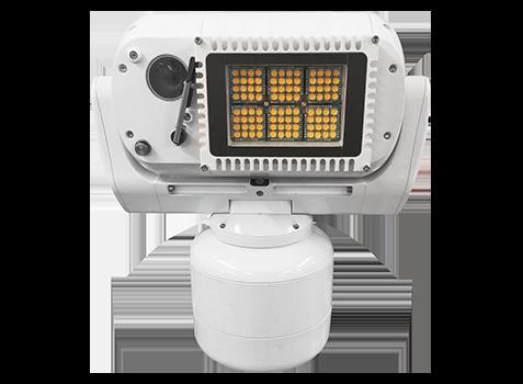 camera ptz longue portee eclairage IR blanc 500m puissant très longue distance marine offshore durcie embarquee vehicule