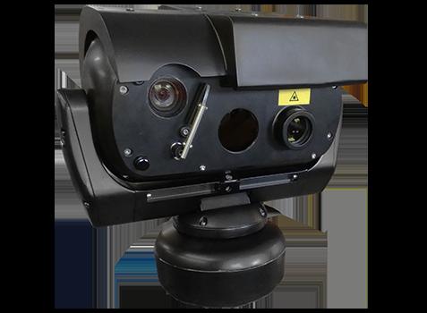 camera PTZ très longue portee laser 1000m 1km durcie vibrations vehicule marine offshore littoral zones ultra sécurisées
