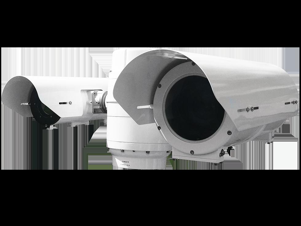 Caméra OSIRIS Ranger LR de silent sentinel thermique zoom auto focus autofocus camera jour 15.2-500mm full HD sur IP OnVif