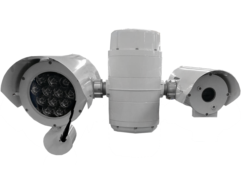 Camera OSIRIS SLG Signal Light Gun ptz thermique HD zoom long range